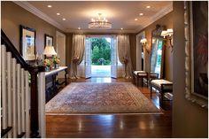 jamesthomas, LLC - traditional - entry - chicago - by jamesthomas, LLC Traditional Style Homes, Traditional Decor, Home Bar Designs, Cool House Designs, Front Door Entryway, Entrance Foyer, Chicago, Traditional Bathroom, Interior Design Studio