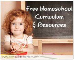 HUGE list of free homeschool curriculum and resources!