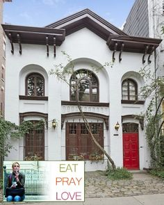 """Carriage House from """"Eat Pray Love"""" Movie For Sale   hookedonhouses.net"""