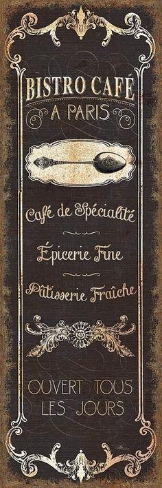 ~Paris Bistro Cafe | The House of Beccaria#