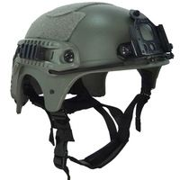IBH Tactical Operational Combat Airsoft Helmet WILCOX NVG Mount