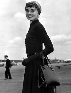 Another classic Audrey Hepburn look