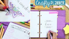 ¡Cumple tus objetivos con esta agenda! Crafty Planner & Mandalas ✄ Craft...