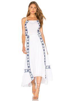 Ella Moss Usiku Maxi Dress in White