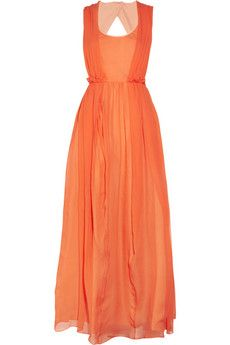 The color of this Carven dress is to die for!