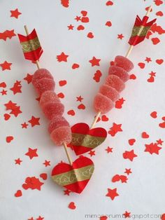 MIMOSORUM : DIY: Flechas con washi tape para San Valentín - DIY: Valentine Arrows & Washi Tape