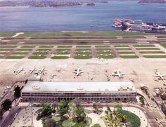 Aeroporto SDU e Praça Salgado Filho