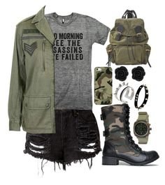 Army Assassins by tychehecateartemishera on Polyvore featuring polyvore, mode, style, Topshop, Soda, Burberry, Briston, Maria Francesca Pepe, Casetify, fashion and clothing