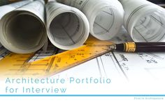 Architecture Portfolio tips and ideas for interview Architecture Student, Architecture Plan, Drawing Architecture, Portfolio D'architecture, Entrepreneur, Stock Broker, Think Small, Construction, New Technology