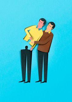 illustrazione per il catalogo Herman Miller 2013 © Eiko Ojala