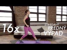 Týždeň 1 - Tréning 1 (Tréningový plán na chudnutie) - YouTube