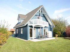 Ferienhaus in #Kalifornien / Ostsee, ab 60€/Tag #Strandkorb #Kamin