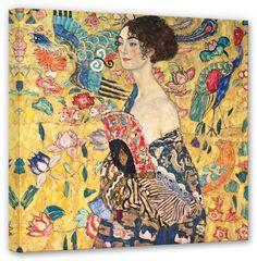 Dieses Gemälde von Gustav Klimt war eines seiner letzten. So soll es noch auf seiner Staffelei gestanden haben, als Gustav Klimt 1918 verstarb.  Artikeldetails:  Größe: (B/H): 50/50 cm,  Material/Qualität:  100% Baumwolle,  Qualitätshinweise:  Auf festes Canvas aus 100% Baumwolle gedruckt, Für viele Jahre Farbecht,  Wissenswertes:  Inkl. Aufhängung auf der Rückseite,  ...