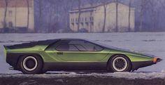 Wedge shaped supercars, concept cars and prototypes from the late and early including the Alfa Romeo Carabo and Lotus Esprit Maserati, Ferrari, Turin, Automobile, Muscle Cars, Porsche, Bmw Classic Cars, Alfa Romeo Cars, Lamborghini Miura