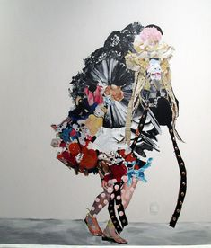 Image result for avant garde costumes with flowers