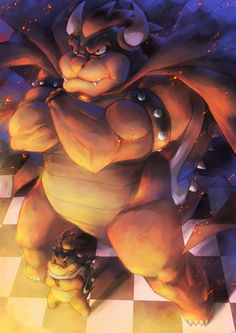 Bowser and Kid