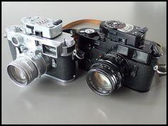 Leica M3 & M4 by James Beveridge, via Flickr