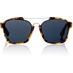 """Dior """"Dior Abstract"""" Sunglasses (3,720 EGP) ❤ liked on Polyvore featuring accessories, eyewear, sunglasses, multi, tortoiseshell sunglasses, logo lens sunglasses, tortoise shell sunglasses, tortoise shell glasses and christian dior glasses"""
