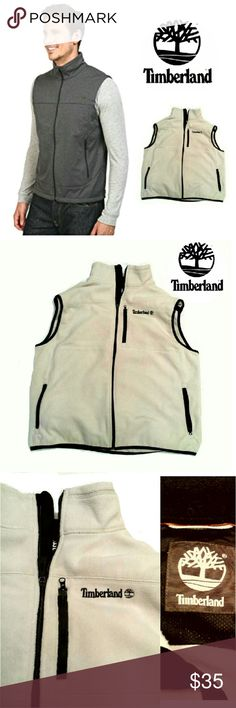 TIMBERLAND MEN'S BEIGE-ISH FLEECE VEST TIMBERLAND MEN'S  BEIGE-ISH  FLEECE VEST Pre-Loved  / EUC RN# 36543 CA# 50900 Front Zip w/Front Zip  Side Pockets Full Description Last Pic Pls See All Pics. Ask ? If Needed Timberland Jackets & Coats Vests