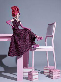 Zuzanna Bijoch by Zee Nunes for Vogue Brasil February 2014