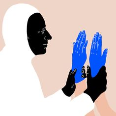 Illustration: Cheeky classical sculptures and severed hands in the portfolio of Sara Andreasson