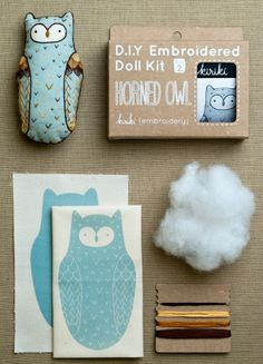 purl soho | products | item | embroidery kits (kiriki)