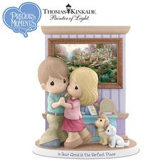 """Precious Moments Figurine """"In Your Arms Is The Perfect Place"""""""