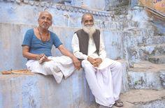 Two men in Bundi, India