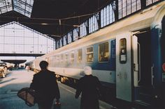 I have actually taken a train from Budapest to Prague, Czech Republic. While Eurailing, I always loved the boarder crossings on overnight trains. 35mm Film, Film Camera, Camera Photography, Street Photography, 6 Images, Film Aesthetic, Foto Pose, Aesthetic Pictures, In This Moment