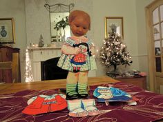 another sweet outfit for cut out dolly
