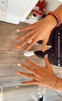 sry if you get annoyed but i cant🤤🤤🤤🤤 | anabellejeann Acrylic Nails Coffin Short, Simple Acrylic Nails, Fall Acrylic Nails, Simple Nails, Stylish Nails, Trendy Nails, Western Nails, Cute Gel Nails, Acylic Nails