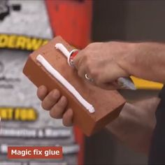 This Glue is a powerful adhesive that can bond seal and repair virtually everything! It is an easy to use super strong rubberized waterproof adhesive with INSTANT GRAB.