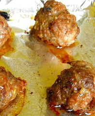 Egg and dairy free meatballs... Have to use gluten free bread crumbs too but might be worth a try.