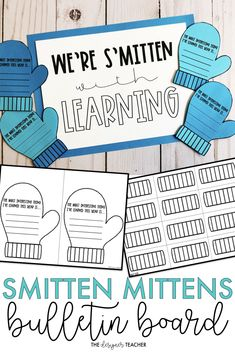 Create the the cutest winter bulletin board display for your classroom with the Smitten Mittens Bulletin Board Kit. Includes craftivity and no prep versions. Music Bulletin Boards, Reading Bulletin Boards, Winter Bulletin Boards, Bulletin Board Display, Classroom Activities, Classroom Decor, Preschool Bulletin, Special Education Classroom, Physical Education