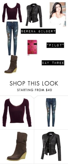 """Serene Gilbert (Worlds Colliding) The Vampire Diaries 1.01 ""Pilot"""" by jdefloria on Polyvore featuring Mark Fast, Denim & Supply by Ralph Lauren, See by Chloé and Doublju"