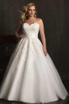 Superb  Jaw Dropping Plus Size Wedding Dresses