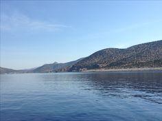 Iraklia island Greece