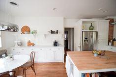 Our bright, white, open kitchen - traditional - kitchen - dallas - Emily McCall