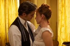 Rob as Georges Duroy with Kristin Scott Thomas