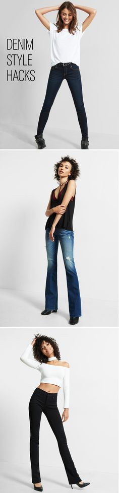 Once you find the perfect pair of jeans, the next step is to make them your own. If the inseams are too long, cut the jeans right above the hem and then rub the ends together for a deconstructed, released look. Need some 90s flavor in your life? Dust off your hand iron and add some patches, or for a less permanent option, add some pins. If you want to show your edgy side, take a hand-held cheese grater (with a handle) and rub it downwards on whichever part you want some deconstruction.