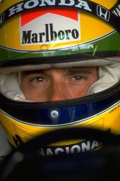 Ayrton Senna, GP de San Marino em 1991.