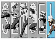 Naruto - Sensei Kakashi