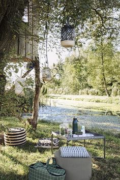 This location is best for picnic ; House Doctor, Hygge, Rock The Kasbah, Bad Set, Cosy Corner, Outdoor Lighting, Outdoor Decor, Al Fresco Dining, Summer Picnic