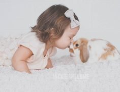Fawn Over Baby: Adorably Simplistic Easter Photo Session - Jackie Willome Photography