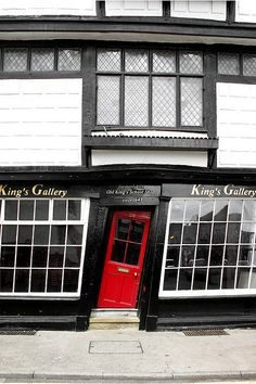 King's Gallery,Canterbury, Kent, England Cool. So, if you're a little lit, would the door seem straight?