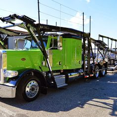 East Coast Truck and Trailer Sales obviously has a thing for custom paint. This high rail #carhauler is just biding its time until delivery day, but that doesn't mean you can't come in and look this work-a-haulic over. ECTTS.Com   #ECTTS