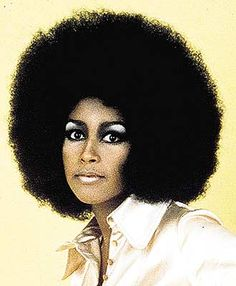 Marsha Hunt, a dazzling model, singer and writer, she struck oil with her wild and free afro and her gentle smile in the late 1960's. Marsha has worked with music greats in the music industry for almost 50 years, but its her bold and sassy 70's power fro and bright smiling eyes that makes all of us admire her look! Marsha is also a survivor of breast cancer.