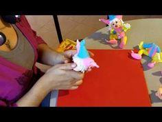 Porcelana Fria Paso a Paso: Payaso Bufón (4de4) - YouTube