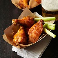 Broiled Buffalo Wings - A slimmed down #recipe that's just as finger-licking good as the full-fat version.