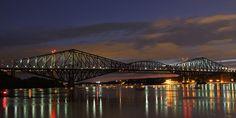 File:Pont de Quebec au crépuscule.jpg